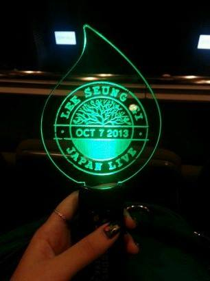 light stick from Japan concert lsg baidu