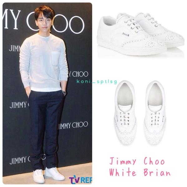 Jimmy Choo White Brian shoes